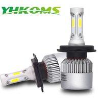 YHKOMS Car Headlight H4 LED H7 H8 H11 9005 9006 880 881 H27 H13 9004 9007