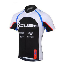 Cycling clothing Racing Bike CUBE short sleeve summer cycling jersey 2017 Mountain Racing Bike clothes cycling for men
