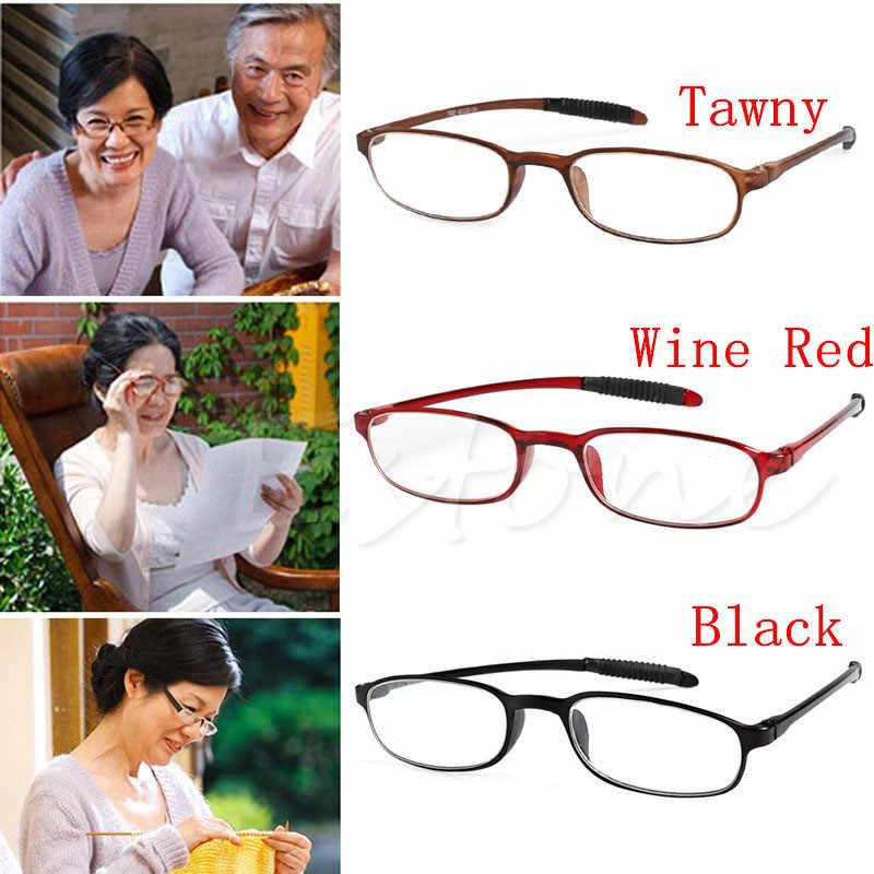 Nuovo TR90 Degli Uomini Delle Donne Flessibile Occhiali Da Lettura Lettori di Forza Occhiali Da Presbite
