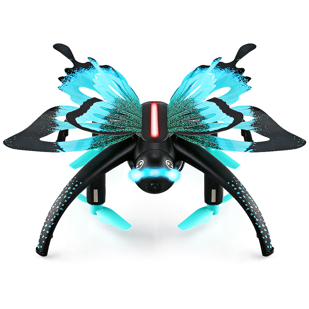New JJRC H42WH Butterfly Mini RC Drone RTF WiFi FPV 0.3MP Camera Voice Control Waypoints Protable RC Quacopters RC HelicopterNew JJRC H42WH Butterfly Mini RC Drone RTF WiFi FPV 0.3MP Camera Voice Control Waypoints Protable RC Quacopters RC Helicopter