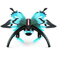 New JJRC H42WH Butterfly Mini RC Drone RTF WiFi FPV 0.3MP Camera Voice Control Waypoints Protable RC Quacopters RC Helicopter