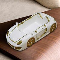 European ashtray Ceramic Personality Fashion Car model ashtrays home room Ash Tray Gifts for Men ash trays Outdoor Indoor