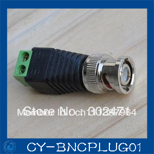 где купить 10PCS Mini Coax CAT5 To Camera CCTV BNC Video Balun Connector Adapter дешево