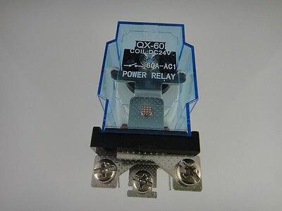 5 pcs jqx 60f 1z 60a ac 110 v bobina do rele de energia