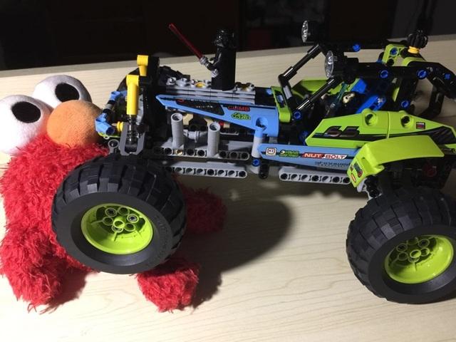 LELE 38001 Técnica City Series Fórmula Todoterreno Coche Modelo de Bloques de Construcción Ladrillos Niños Juguetes Marvel minis Compatible 42037