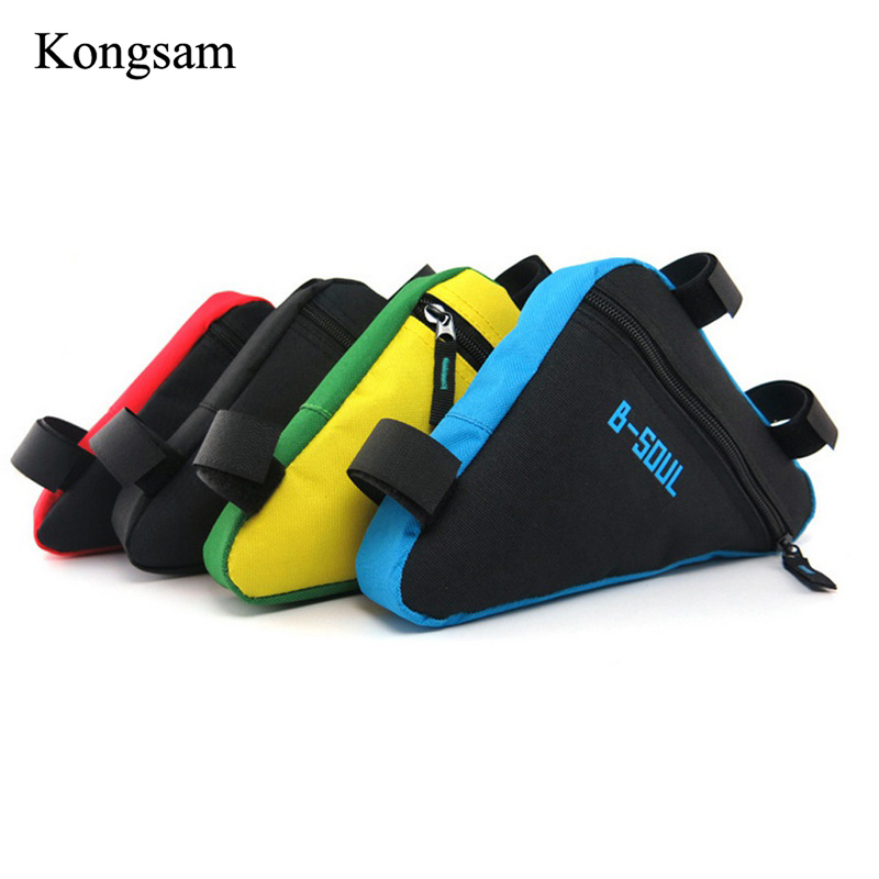 Bike Bag Front Tube Frame Cycling Bicycle Bags Waterproof Bicycle Saddle Bags Triangle Pouch Frame Holder Bike Accessories