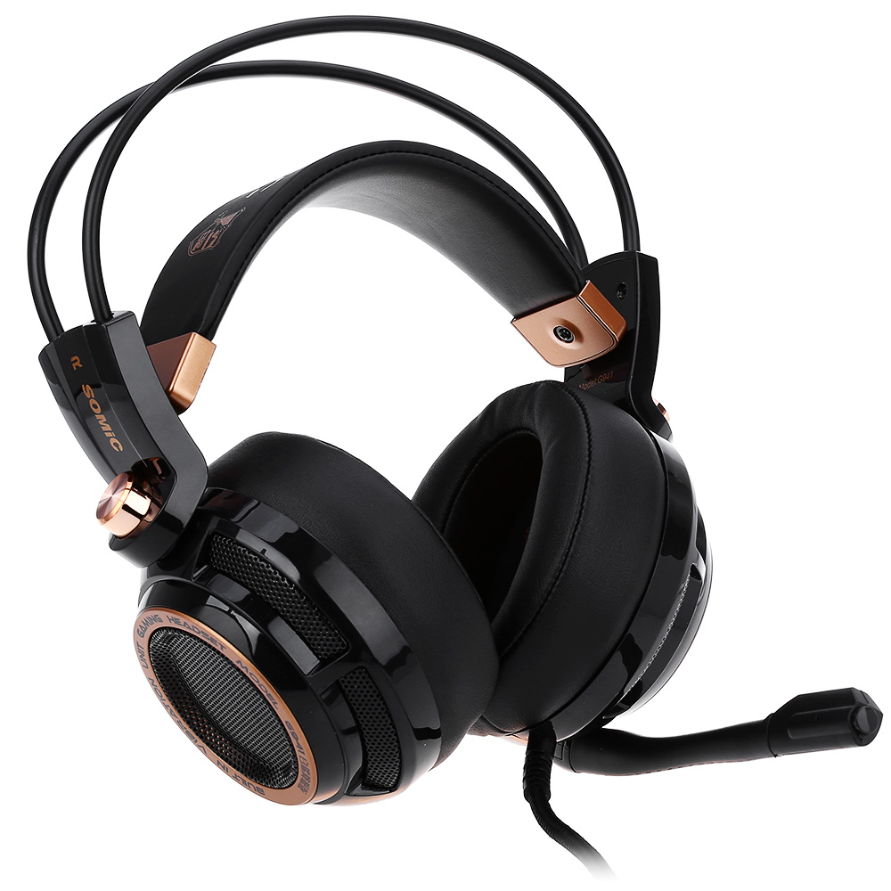 Somic G941 Upgrade Active Noise Cancelling Headphone 7 1 Virtual Surround Sound USB Gaming Headset with