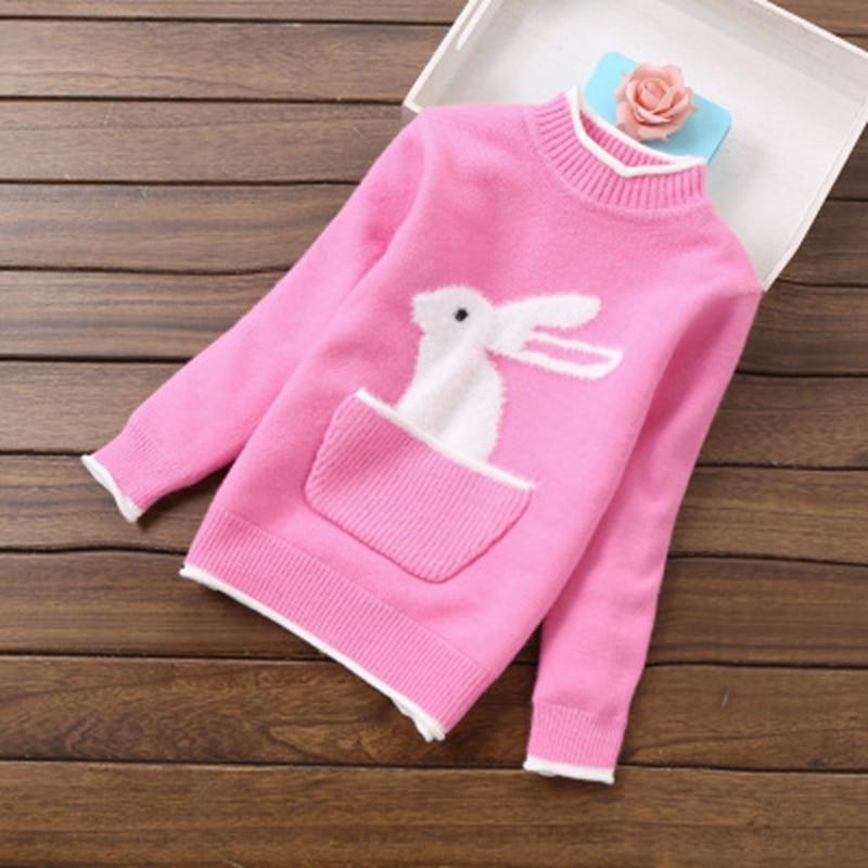 2018 new winter girls sweaters thick sweaters 3-12years children clothing K818 2018 new fashion girls sweaters 2 6years children clothing c8069