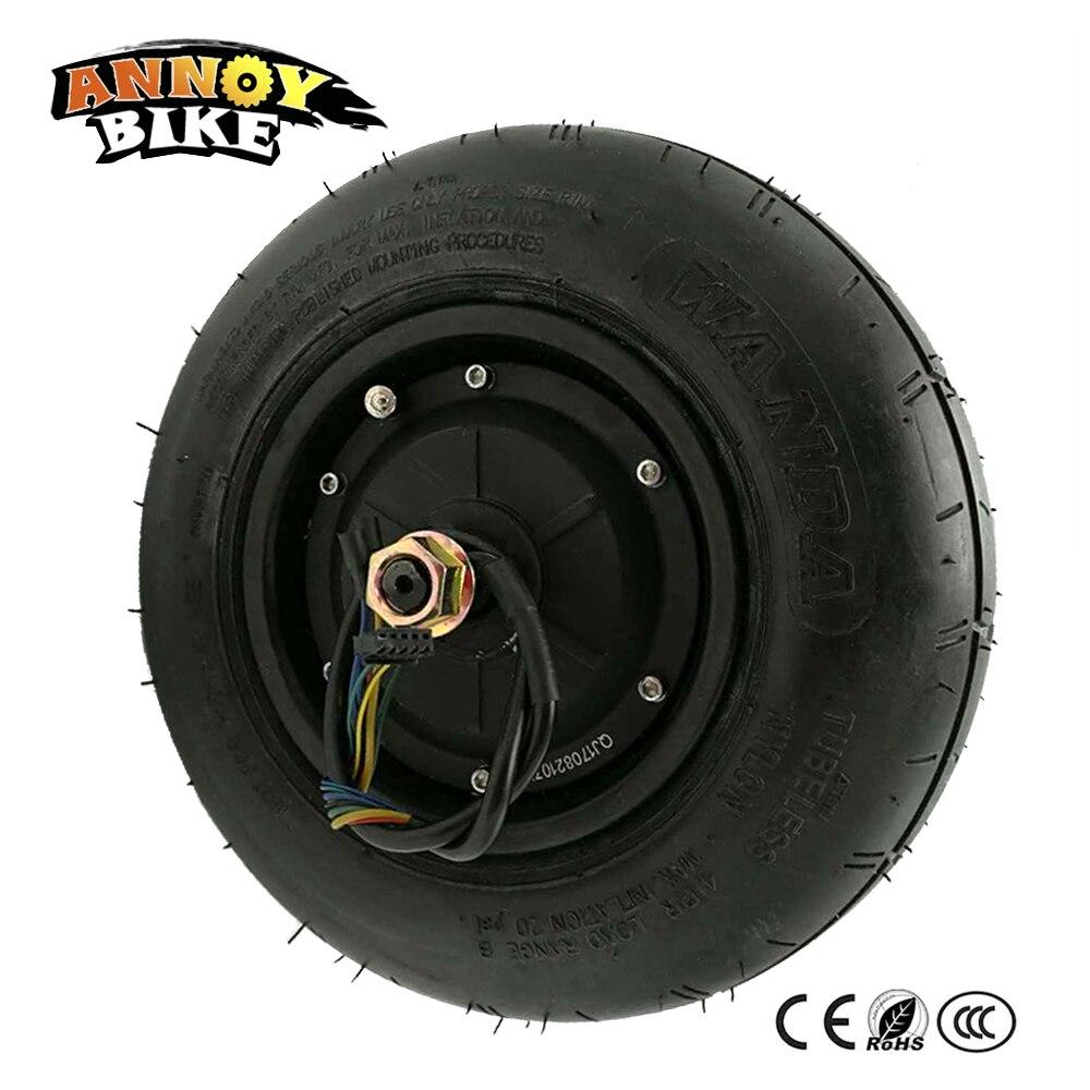10 pouces Harley Citycoco 48 V-60 V 500 W moyeu moteur roue électrique voiture roue adulte gros pneu roue