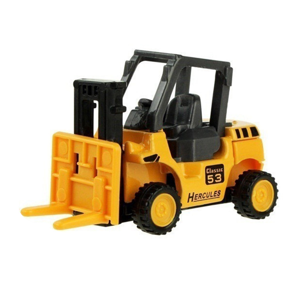 Alloy Engineering Vehicle Model Alloy Excavator Toys, Metal Castings, Toy Vehicles Electronics Special Car For Magic Track Toys