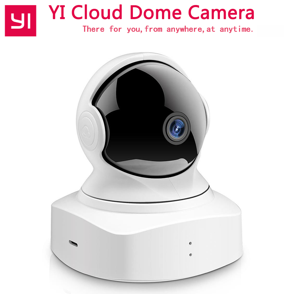 YI Cloud Dome Camera Baby Monitor IP Camera 1080P HD Night Vision Wireless Wifi Camera Pan/Tilt/Zoom Indoor Security Home Camera