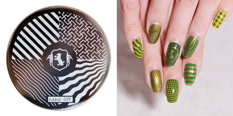 HEHE 2016 New Stamping Plate hehe29 <font><b>HP</b></font> Wave Zebra Pattern Maze <font><b>Puzzle</b></font> Nail Art Stamp Template Image Transfer Stamp+Free shipping