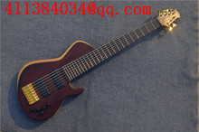 Free Shipping, Classic Edition 7-String Guitar, Electric Guitar, Bass Fodera Flame Maple