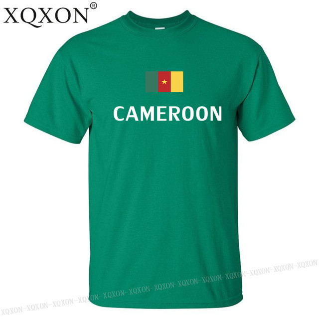 Cameroun conception t-shirt mixte été 2018 4