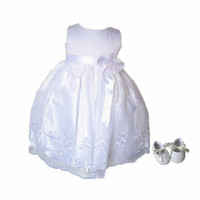 BBWOWLIN White Lace Newborn Baby Girl Christening Gowns Dress for 0 2T first communion dresses 80688