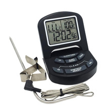 Digital Food Thermometer Cooking Meat Food Oven Barbecue Probe Thermometer With Timer And Alarm Function Thermometer