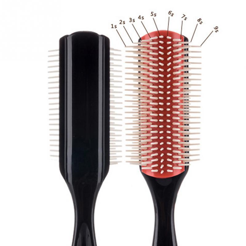 Hair Styling Brush Wheat Straw Detangle Hairbrush Salon Hairdressing Straight Curly Hair Comb  Hair Brush