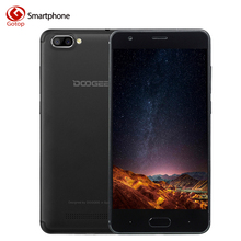 Original Doogee X20 MT6580 Quad Core Smartphone 5.0 inch Android 7.0 CellPhone 2M RAM 16G ROM Dual Back Camera OTG Mobile Phone(China)