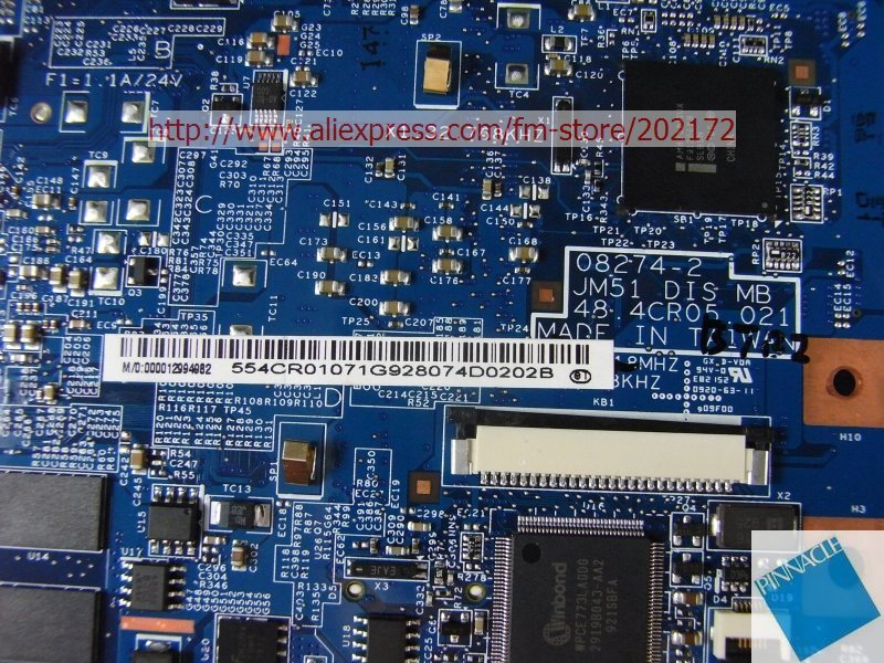 MBPDU01002 SU9400 Motherboard For Acer Aspire 5810T 5810TG JM51 48.4CR05.021