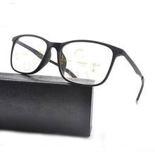 MINCL Bifocal Óculos de Leitura Homens óculos de Lente Multifocal  Progressiva Óculos Unisex Óculos De c570d6a60a
