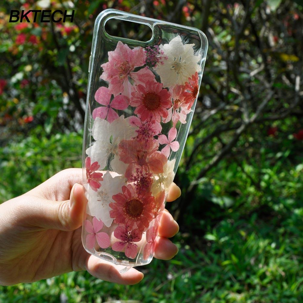 Модні білі та рожеві квіткові чохлики - Аксесуари та запчастини для мобільних телефонів - фото 2