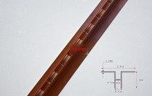 2.4 Meters AA Rose rails Single row column aluminium bar DIY shelf track furniture accessories