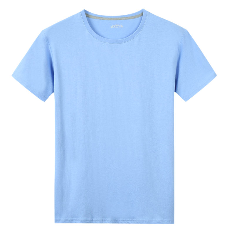 5XL T Shirts Men Women Clothing Cotton Summer Short Sleeve Solid Male Female Tshirts Top Tees O-Neck Plus Size Tee shirt MuLS 05