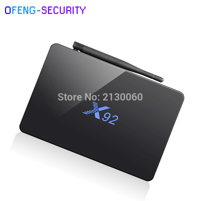 X92 Smart TV Box Android 6.0 smart TV 2GB 3GB 16GB 32GB Amlogic S912 Octa Core CPU 5G Wifi 4K H.265 csa93 amlogic s912 octa core 3gb ram 32gb android 6 0 tv box 2gb 16gb bt4 0 2 4 5 8g dual wifi h 265 4k 1000m smart meida player