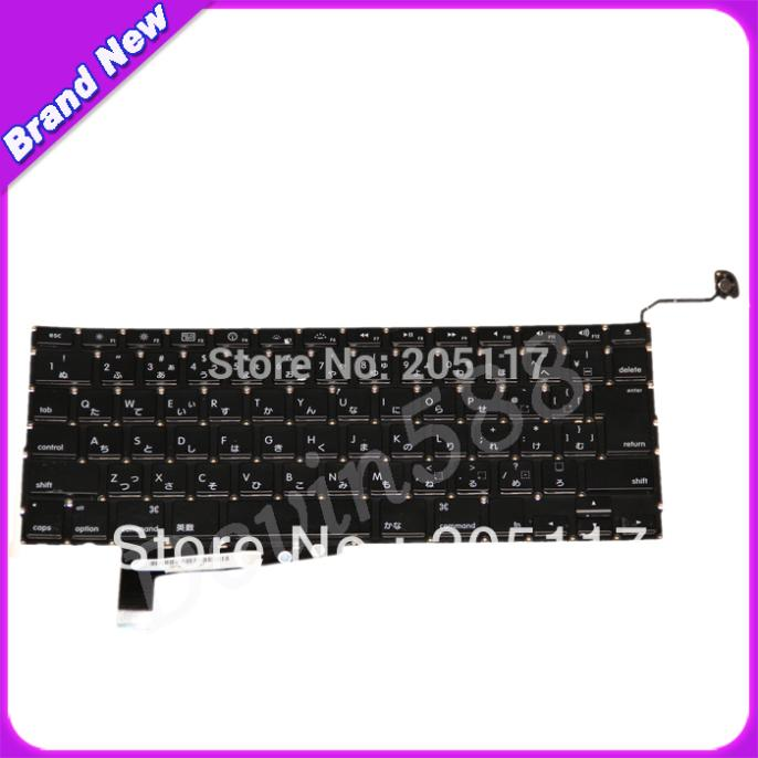 A LOT OF 5 PCS KEYBOARD FOR Macbook Pro A1286 Japan keyboard 2008 for macbook pro a1286 turkish keyboard for year of 2008 one year warranty