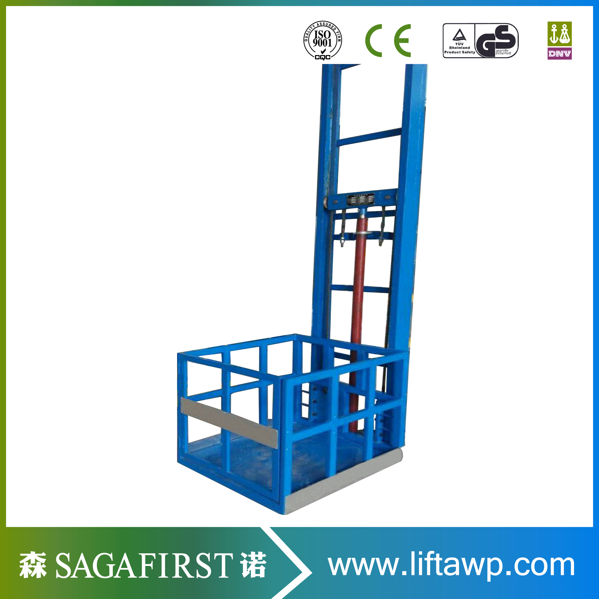 Good Quality Goods Lift Cargo Elevator Lift For Warehouse