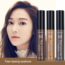 Natural Long Lasting Waterproof Peel Off Eyebrow Gel Make Up Eye Brow Enhancer Tattoo Tint WH998