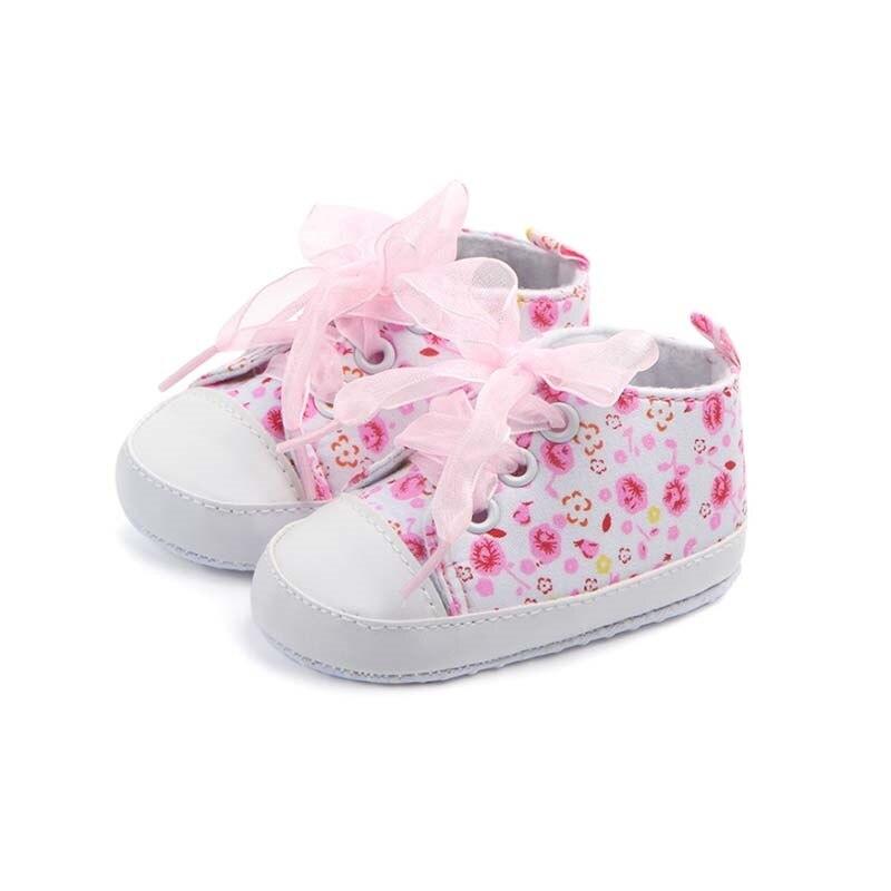 Модная одежда для детей, Детская мода холст для новорожденных Спортивная обувь милая обувь для детей кроссовки младенческой кроватки мальч... ...