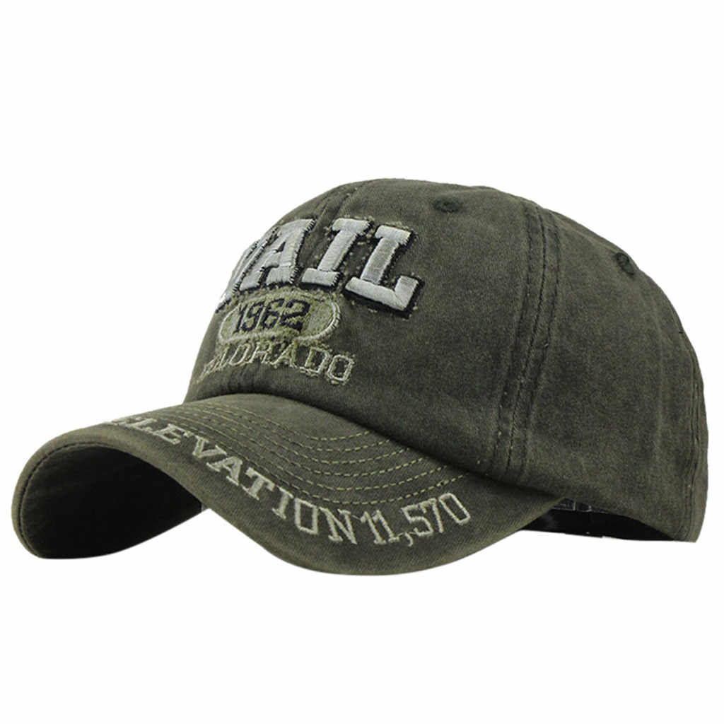 للجنسين القطن عارضة المطرزة الدنيم إلكتروني قبعة الأزياء قبعة البايسبول سناب باك Topee czapka z daszkiem