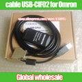 USB-CIF02 PLC кабель для программирования для Omron/USB-CIF02 использовать для CPM1/CPM1A/2A/CQM1/C200HS/C200HX/HG ОН серии SRM1 PLC