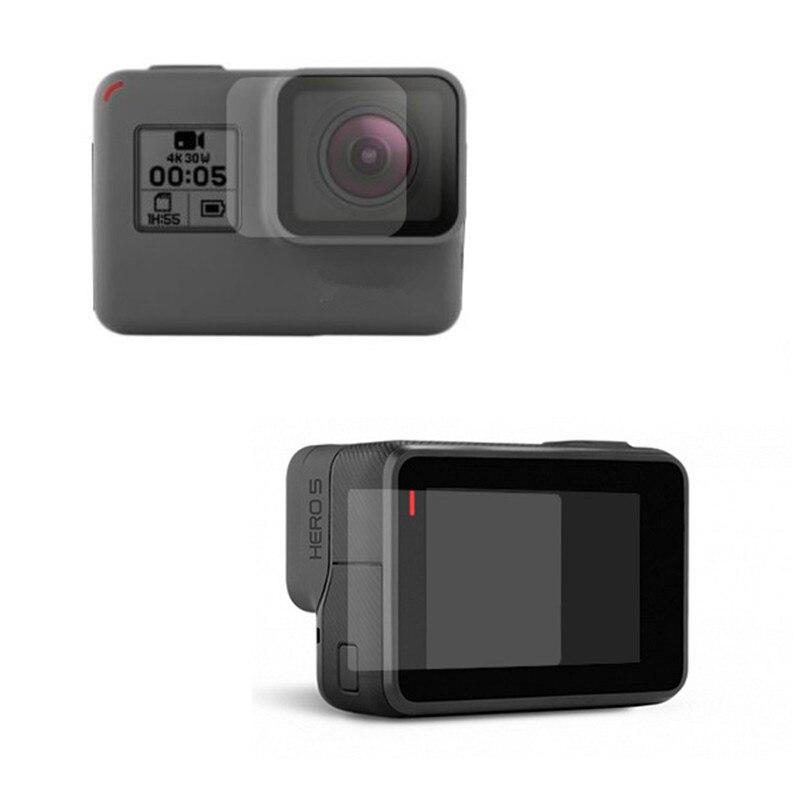 A GoPro Hero 5 6 LCD képernyő filmvédő Go Pro Hero5 6 lencse - Kamera és fotó