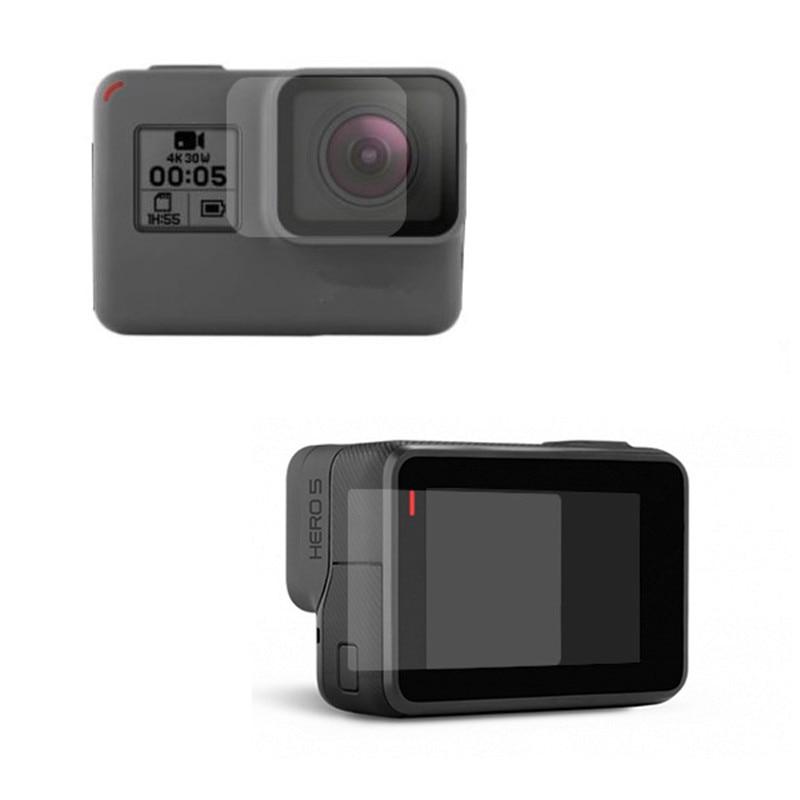 LCD Screen Film pro Gopro Hero 6 5 Protector Lens Ochranný Film Pro Go Pro Hero 6 5 Akční Fotoaparát Příslušenství