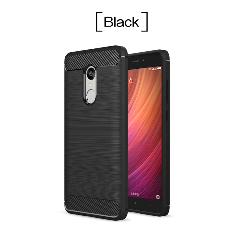 For Xiaomi Redmi Note 4X Case Soft Carbon Style Protective Back Cover Silicon Case For Redmi Note 4 Global Version /Note 4X Pro