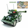 WW2 Modern Military Wild War Czech Armored Tank Model Brick Army Soldier Figure Building Block Educational Toy For Military Fans