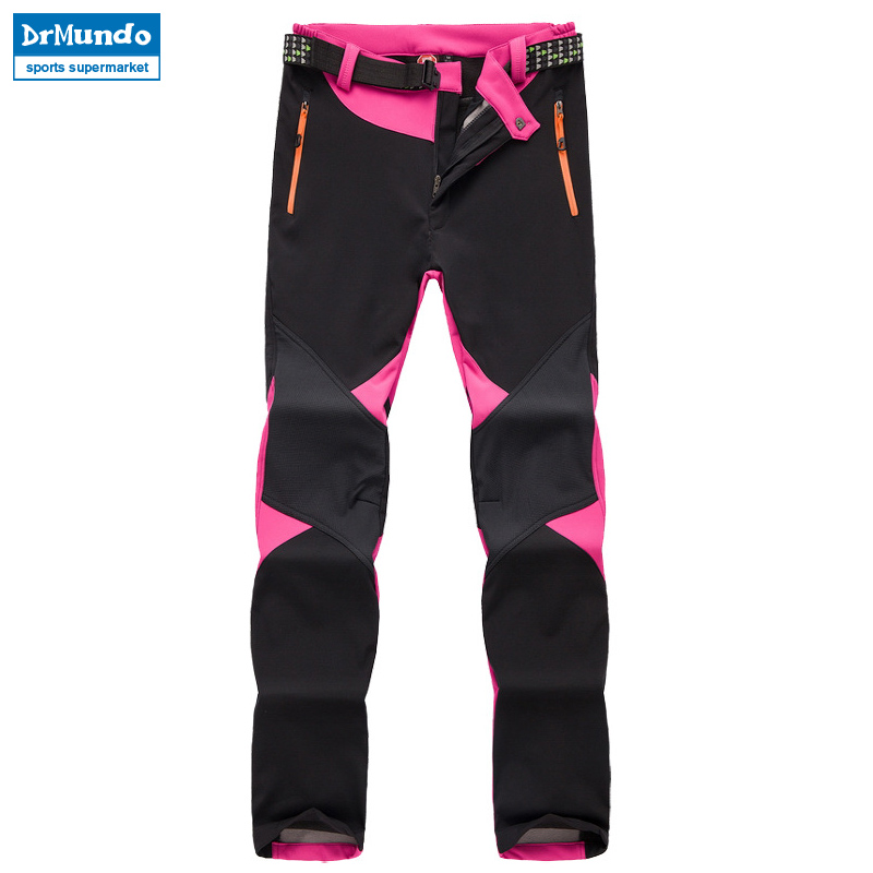Snowboard Trousers Pant Winter Women Waterproof Outdoor Fleece Thicken Hiking Solft Plus-Size