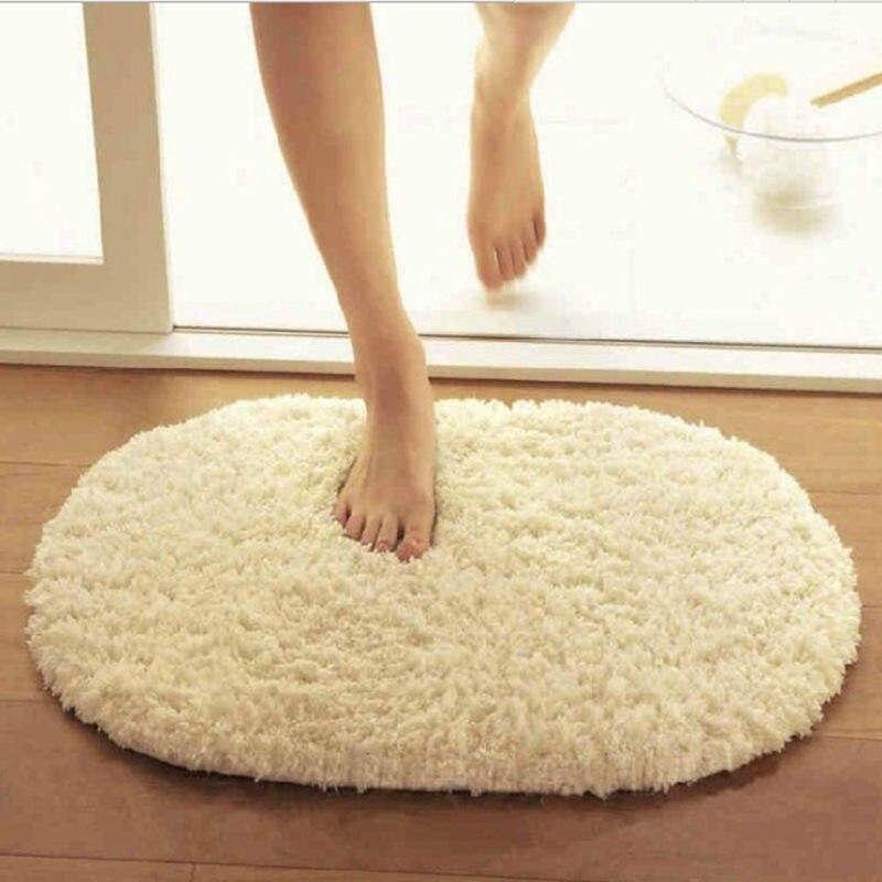 Tapetes para piso, tapete para salón, tapete para pasillo, alfombra Ovalada para baño, tapete para suelo o comedor y alfombra de cocina