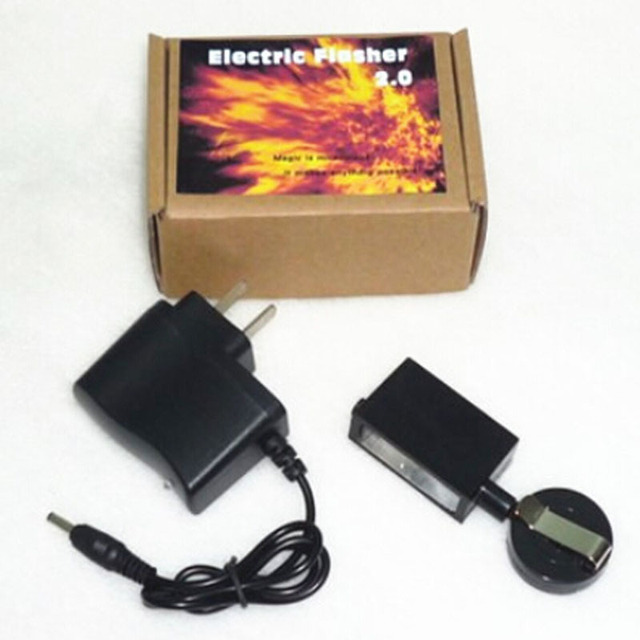 Electric Flasher 2.0 - Magic trick,magic accessories, prop,street magic,fire magic