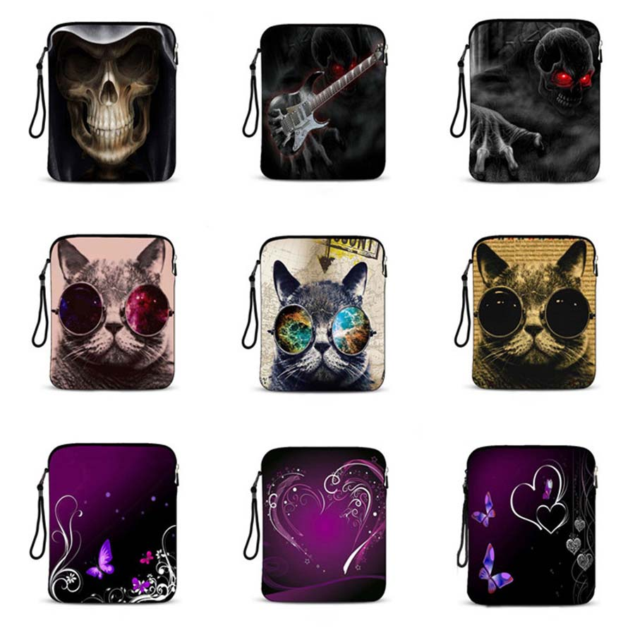 9 7 10 1 inch Universal laptop bag protective case smart tablet bag notebook sleeve Cover For Apple iPad Air Pro 9 7 IP 3076 in Tablets e Books Case from Computer Office