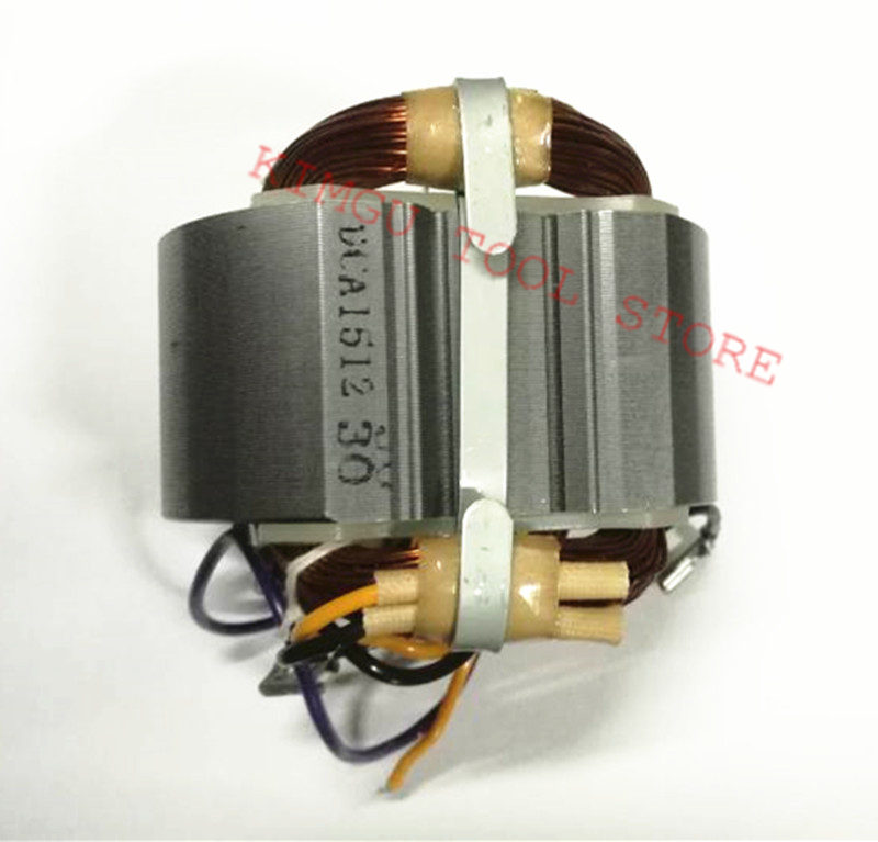 AC220-240V Stator Field Parts for MAKITA 9067 526074-8 9067S 9069 9069S 9069X 9069F 9067F Angle Grinder 4 cable teminals motor stator for makita 9553nb angle grinder