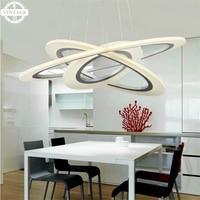 AC220V Contemporary 3 Rings Pendant Lamp for Dinning Room/Living Room/ Restaurant/ Kitchen lights Art Pendant light