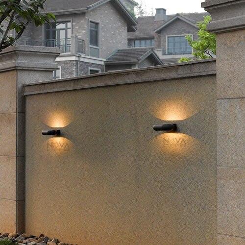 5 W outdoor indirecte wandlamp LED buitenmuur licht, IP54 outdoor ...