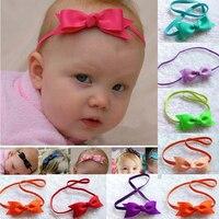 10pcs/lot 17color Baby Bow Headband Hair Bow Headbands Infant Hair Accessories Girls Bow Headband Hair Bow Toddler hairbands