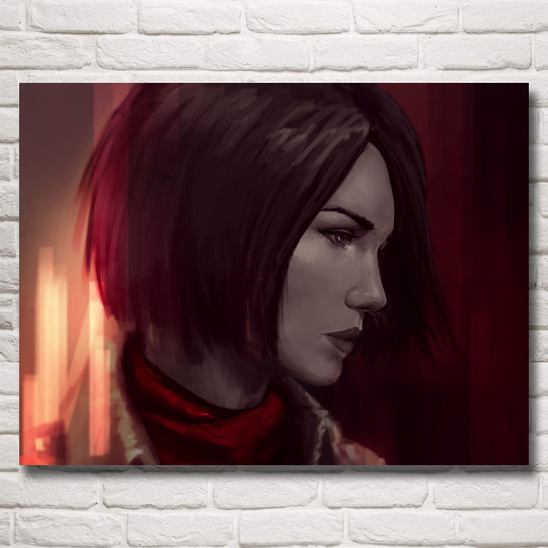 FOOCAME Attack On Titan Poster Japanese Anime Silk Art Prints Home Decor Decoration Paintings for Living Room Wall Pictures 14