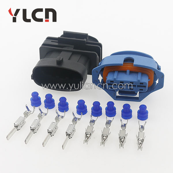 Waterproof Electrical Wire 5 Kit 4 Pin Way Connector Plug Terminal Set Car Auto