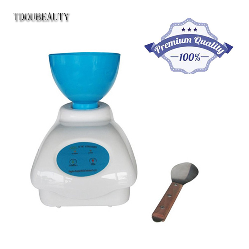 TDOUBEAUTY Clinic Impression Alginate Material Mixer Mixing Bowl + Manual Dental Equipment NEW Free Shipping
