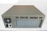 610h 4u Server Computer Case Flexible Motherboard 14 Tank Rear Window